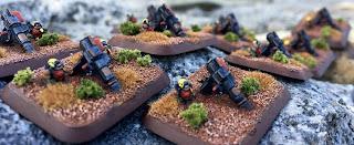 Epic Squat NetEpic Mole Mortar 6mm Reaper MSP HD Games Workshop