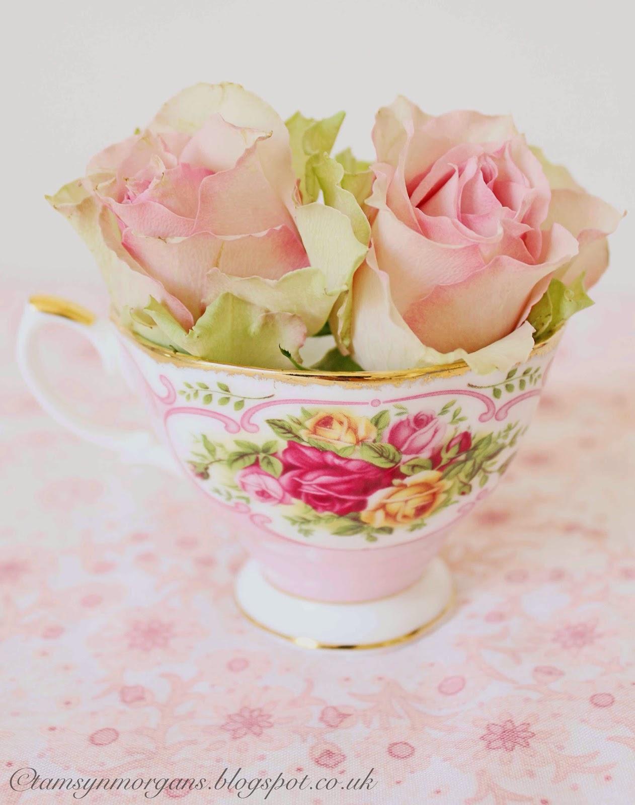 Roses In Teacups