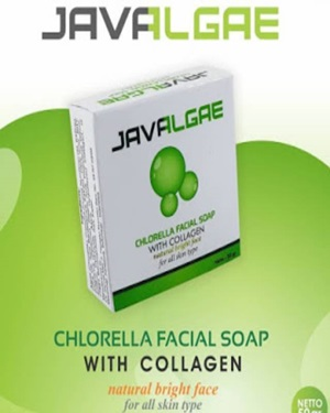 JAVALGAE CHLORELLA FACIAL SOAP