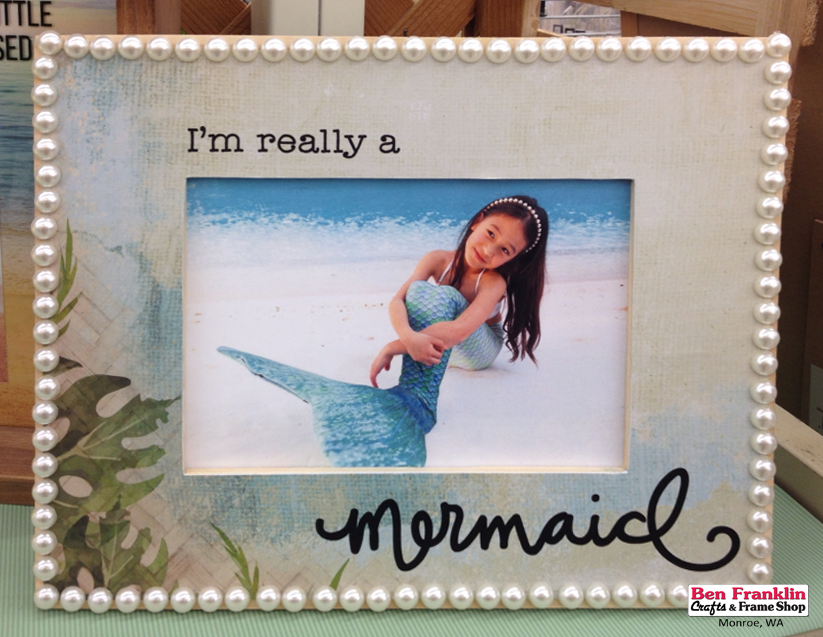 Ben Franklin Crafts and Frame Shop, Monroe, WA: I\'m Really A Mermaid ...