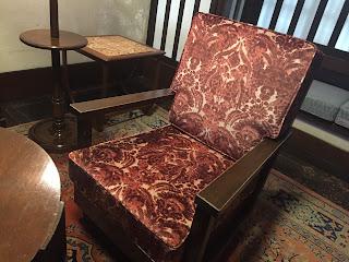 椅子の張り替え<アンドリュー・マーチン>