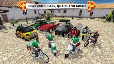 تحميل أخر إصدار لعبة توصيل البيتزا برابط مباشر Pizza Delivery : Driving Simulator