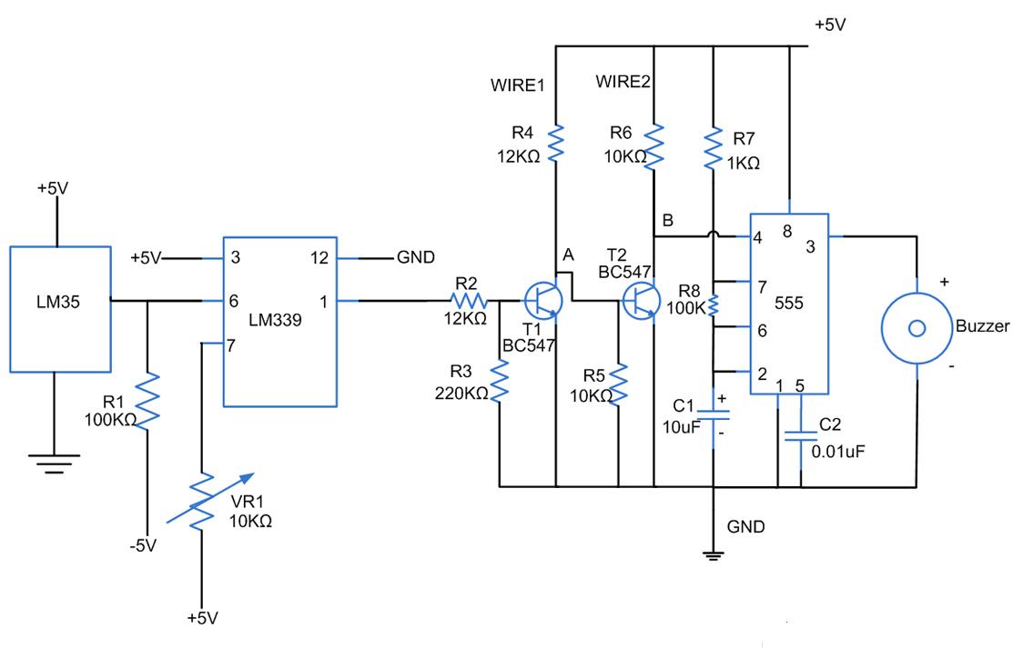 fire alarm circuit temperature alarm circuit fire alarm circuit diagram fire alarm circuit wiring circuit diagram [ 1124 x 713 Pixel ]