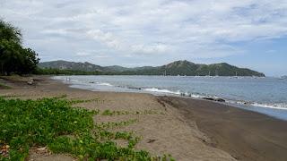 Afternoon cloud in Playa de Coco