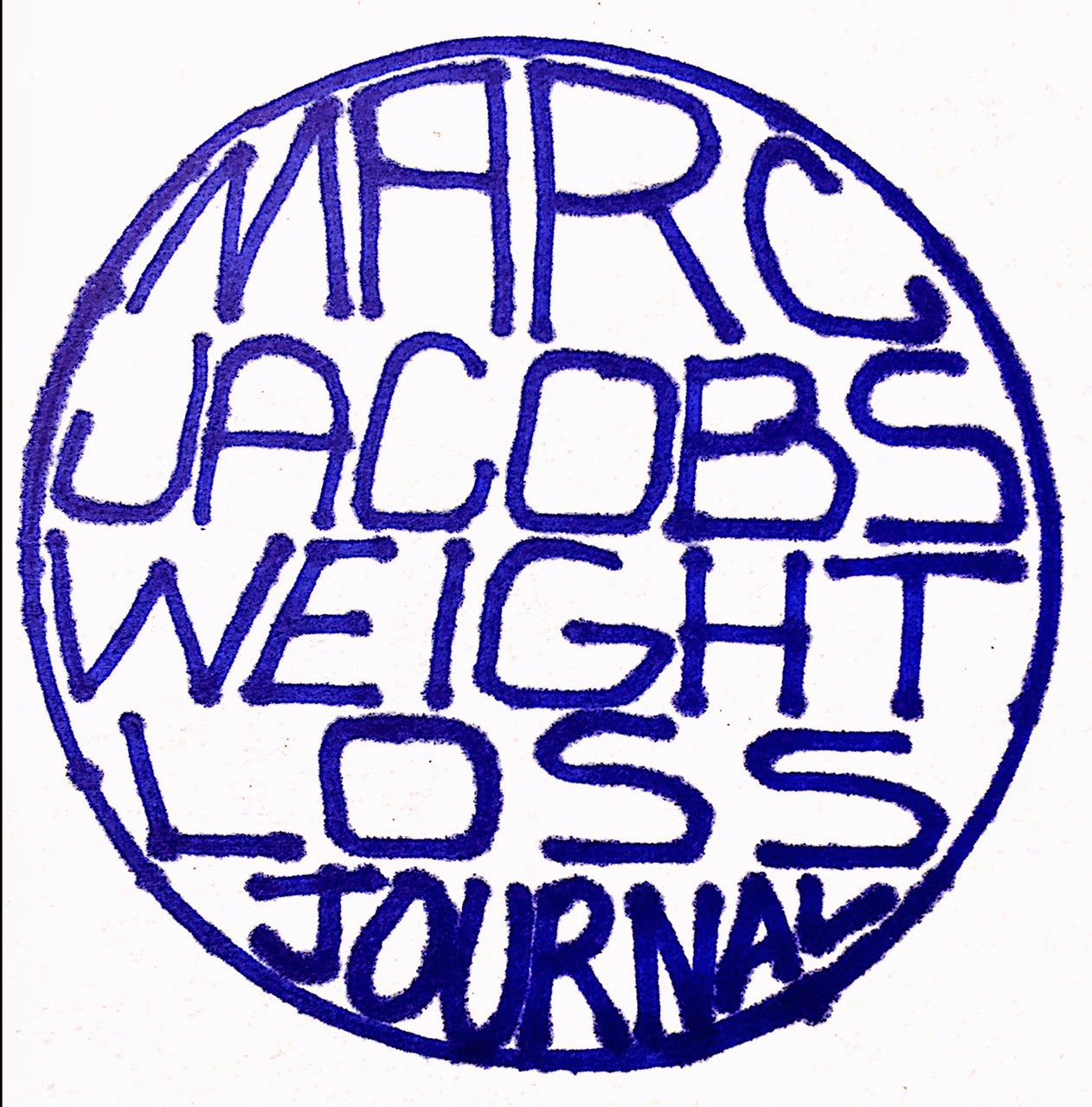 MARC JACOBS WEIGHT LOSS JOURNAL