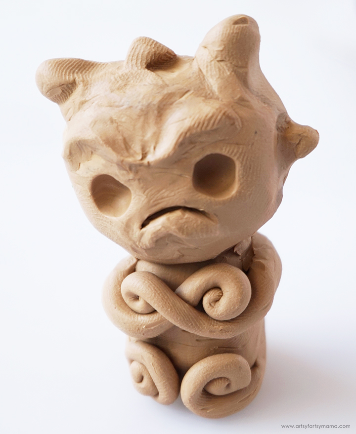 Mandrake Head Attached