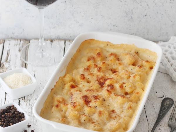 Gnocchi alla parigina con formaggio di fossa (gratinati al forno)