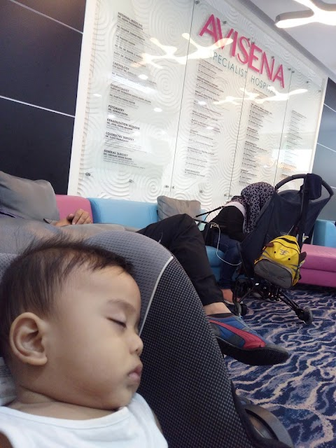 Baby Qaiz Warded 4 hari Di Avisena Specialist Hospital
