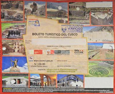 boleto turistico Cusco, boleto Cusco atracciones