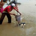 Geger, Warga Tengah Ulu Temukan Jasad Membusuk di Sungai Batanghari