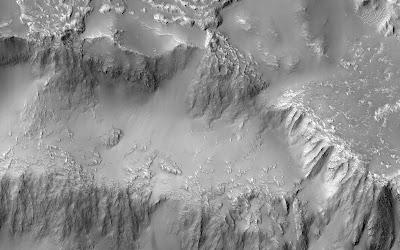 Las Cataratas del Niágara en Marte