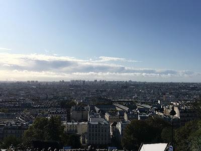 Open air viewing from Sacré Cœur