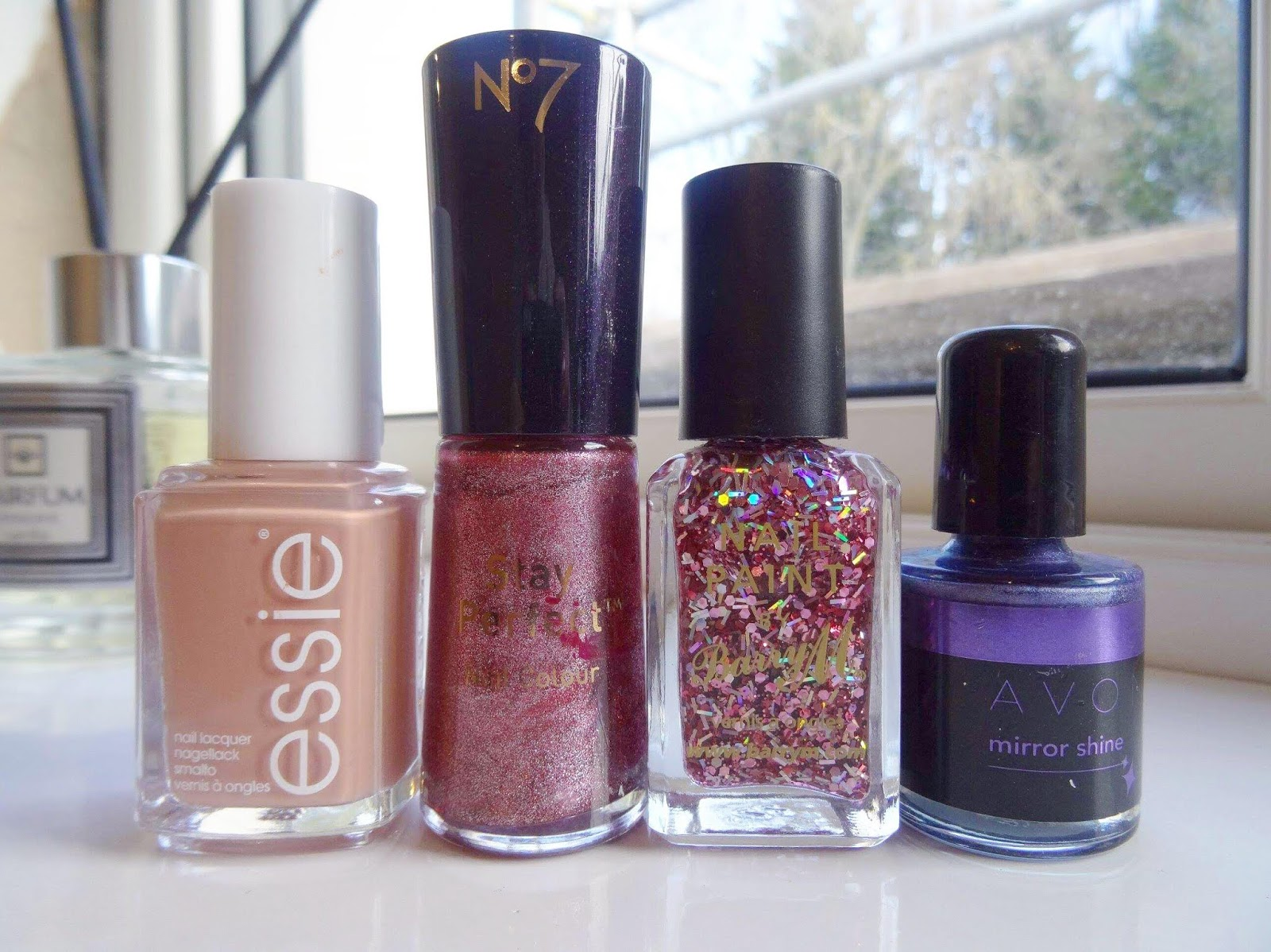 A Huge Nail Polish Declutter Pink and Purple Edition