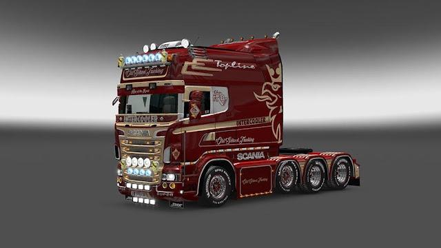 Download Mod ETS2 Truck SCANIA RJL Streamline Mod
