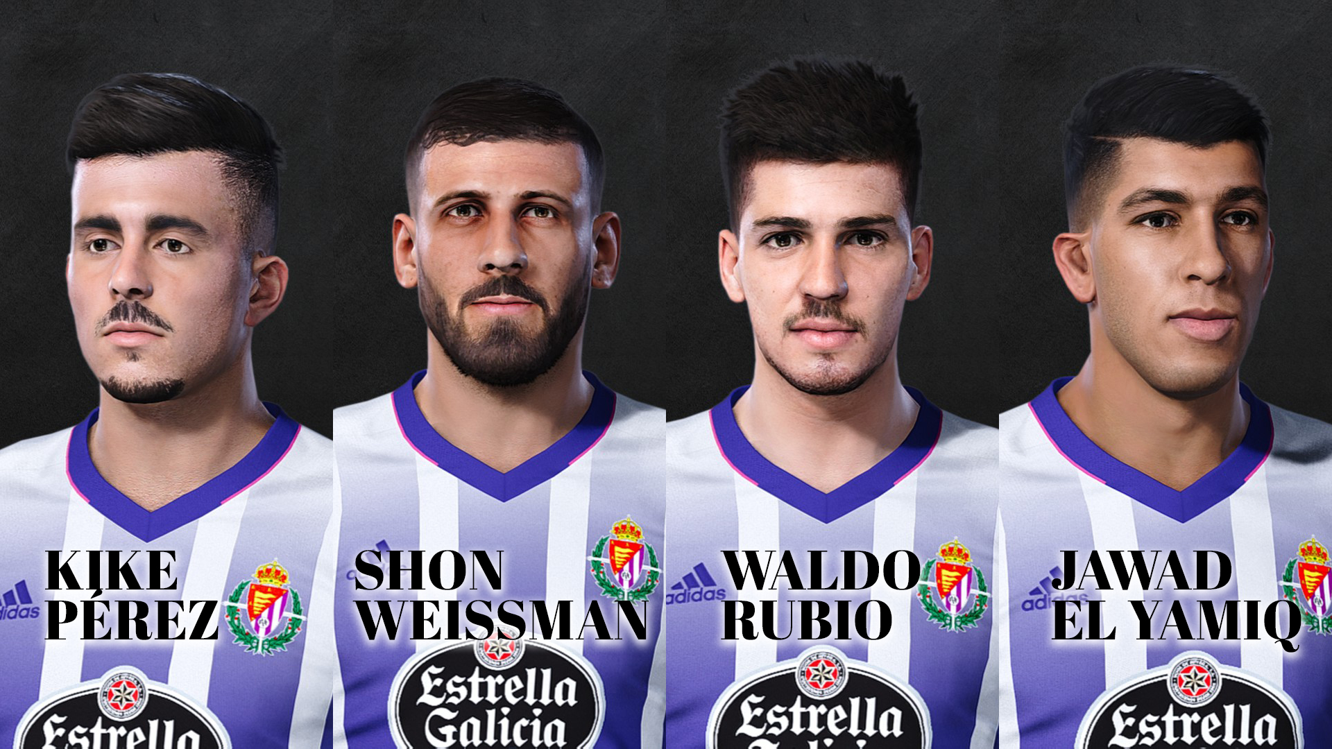 PES 2021 Real Valladolid Face Pack
