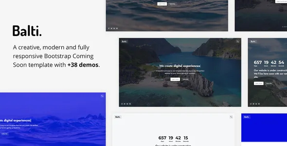 Best Bootstrap Coming Soon Template