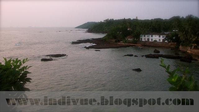 Dona Paula Beach, Goa, Intia