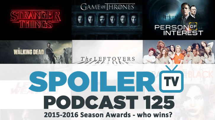 STV Podcast 125 - 2015-16 TV Season Awards