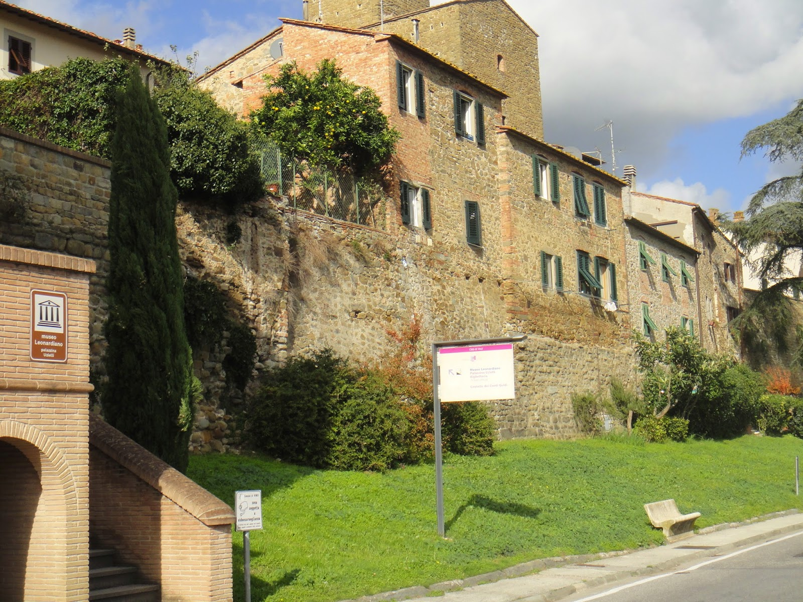 museu leonardiano em Vinci