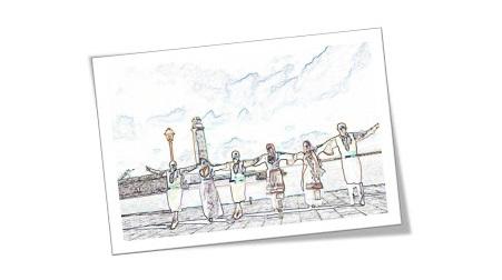 """"""" Ακρογιαλιές Δειλινά"""" από το Δημοτικό Σχολείο Ερμιόνης"""