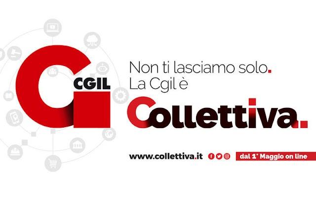 """NASCE """"COLLETTIVA"""", LA PIATTAFORMA MULTIMEDIALE DELLA CGIL"""