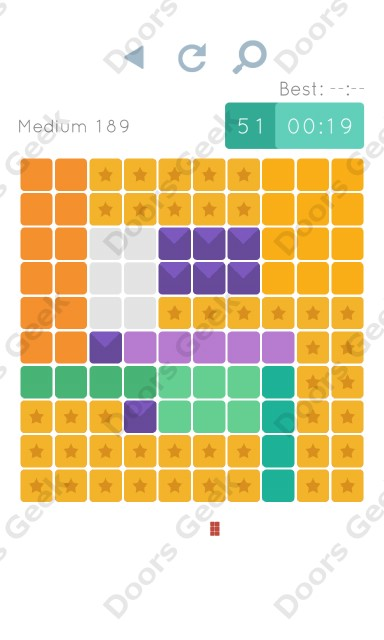 Cheats, Walkthrough for Blocks and Shapes Medium Level 189