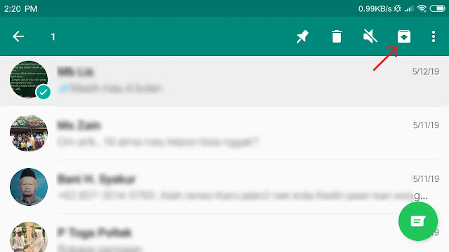 Trik Rahasia Menyembunyikan Chat WA