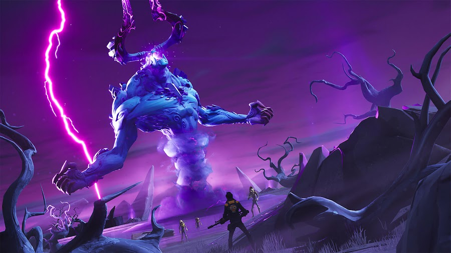 fortnite save the world october 2019 roadmap mythic storm king boss battle epic games pc ps4 xb1