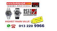 Pajak Rolex ( Rolex Submariner dipajak dengan RM 35,000)
