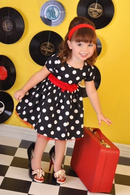 Polkadot with Tulle Combination Image 15