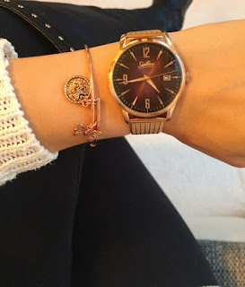 Farbmischung Gold Sixties Watch
