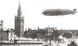 El Graf Zeppelin en Sevilla.
