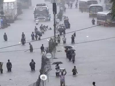 मुंबई: सात वर्षाचा तिसरा सर्वात मोठा पाऊस