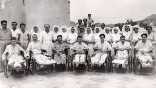 Η ιατρική περίθαλψη των τραυματιών και ασθενών το 1940