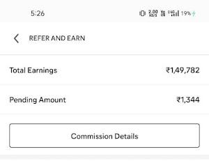 Meesho App earning Proof