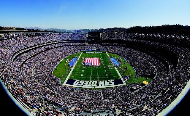 Estádio da NFL em San Diego