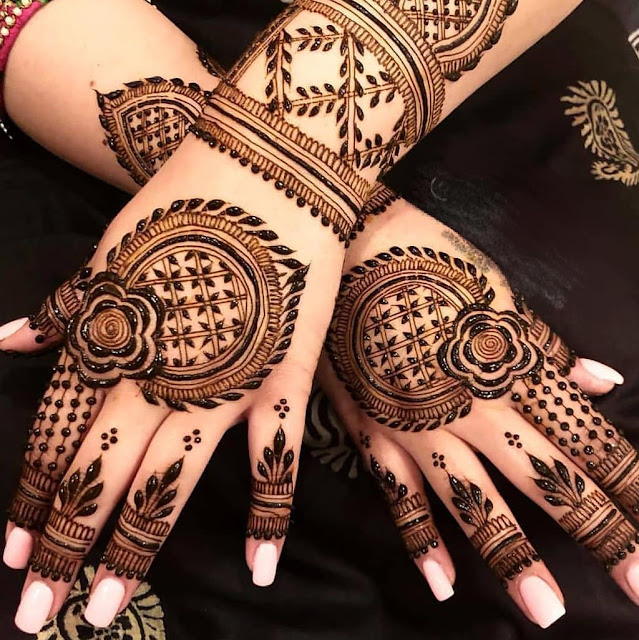 300 Arabic Mehndi Designs For Front Hands Simple And Easy Images