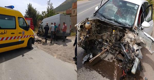 5 جرحى في حادث مرور خطير بواد الفضة