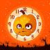 Halloween Bad Pumpkin Clock Screensaver