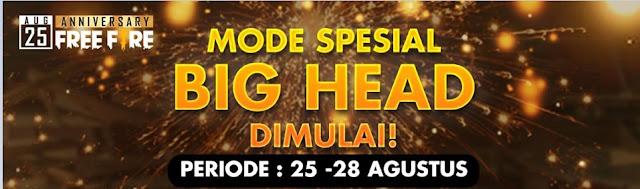 Big Head - Mode Spesial Free Fire