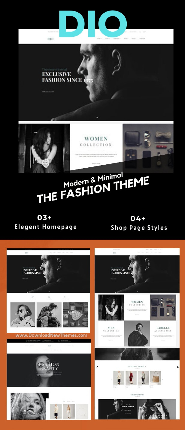 DIO - Boutique Fashion Prestashop Theme