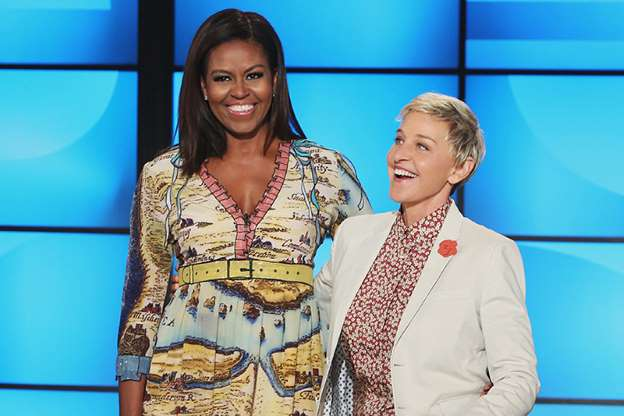 Michelle Obama Congratulates Ellen on 20th Anniversary of Coming Out: 'You Have Shown Us What Love Really Means'