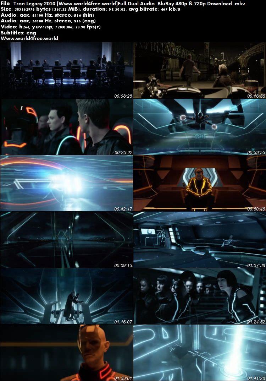 screen shoot of Tron Legacy 2010 Full Dual Audio 900 MB BluRay 720p