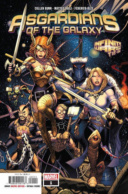 Asgardians of the Galaxy núm 1, de Cullen Bunn y Matteo Lolli - Marvel Comics