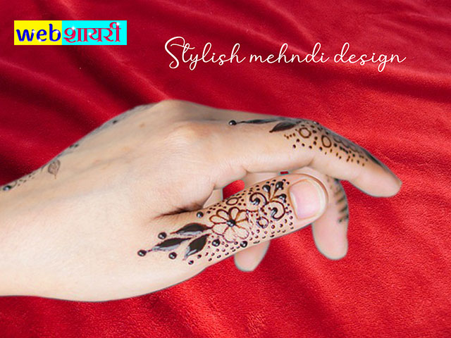 easy simple mehendi design