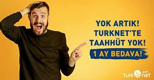 TürkNet'e Geçenlere 1 Ay Bedava İnternet Fırsatı..