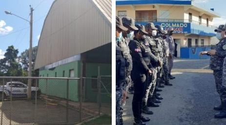 La Policía ya tiene listo durante las fiestas navideñas los centros de detención en Los Alcarrizos y SDO