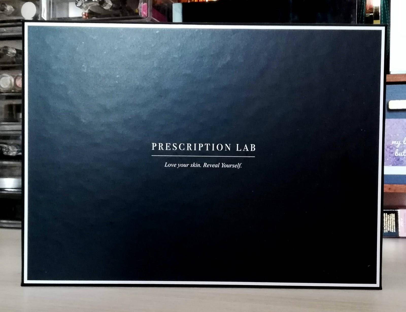 """Box Prescription Lab / Février 2019 """"Révelez naturellement votre féminité"""" (+code promo)"""