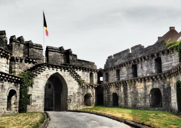 antoing château bolwerk