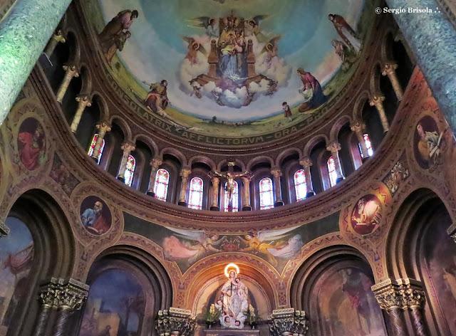 Vista do Altar da Paróquia Nossa Senhora da Consolação - Consolação - São Paulo